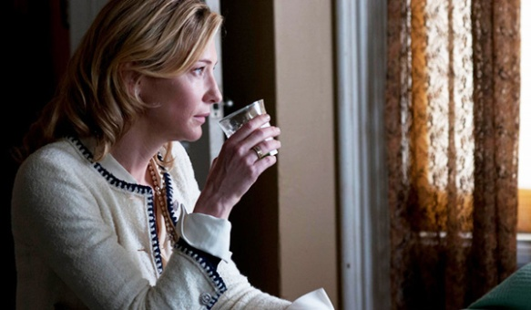 Cate Blanchet plays the title role in Blue jasmine