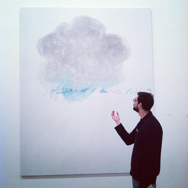 "Cy Twombly ""Shades of Eternal Night"" part of ""Fifty Days at Iliam"" (1977)"