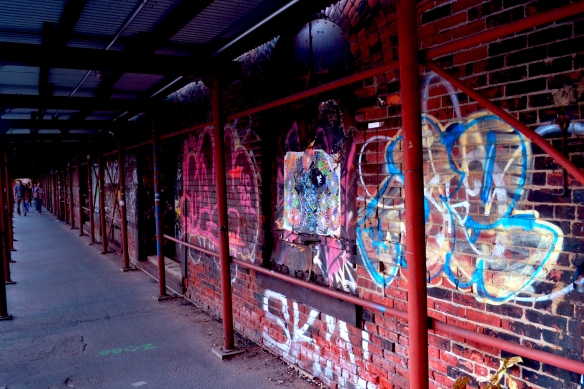 Graffiti Walkway in Dumbo