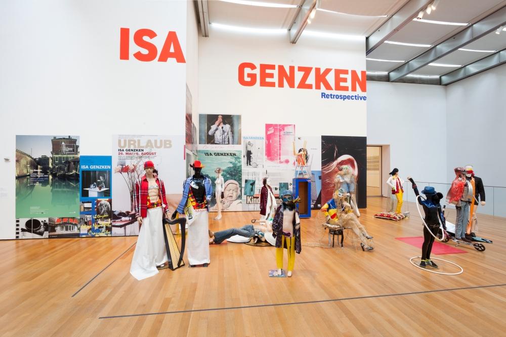 """Isa Genzken """"Schauspieler (Actors)"""" (2013)"""