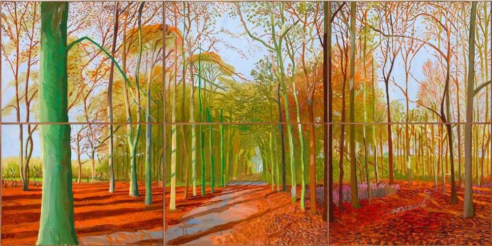 David_Hockney_Arrival Of Spring