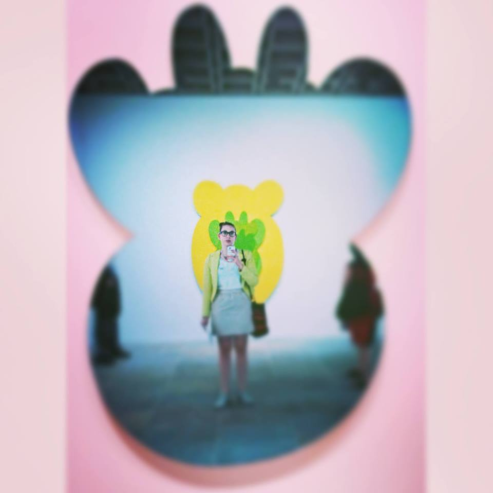 One of my favorite selfies I took at the Jeff Koons show at the Whitney